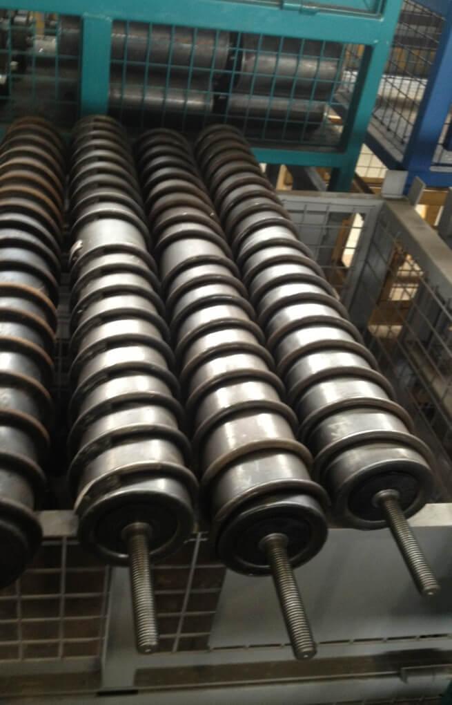Спиральные конвейерные ролики