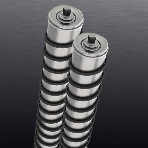 Конвейерные ролики спиральные